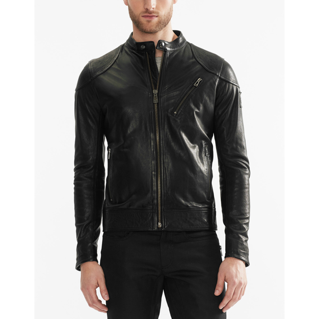 Belstaff MAXFORD BLOUSON JACKET Men BLACK Outlet Store