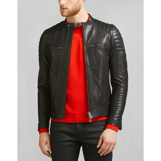 Belstaff STONEHAM JACKET Men BLACK Outlet Store