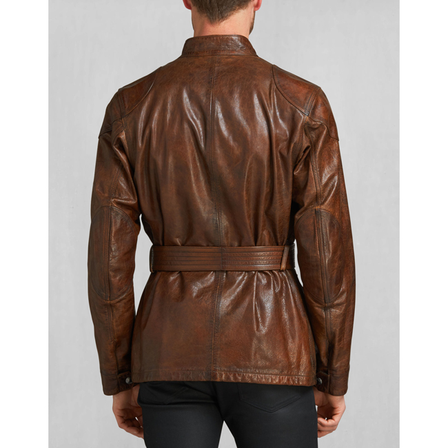 Belstaff THE PANTHER JACKET Men   COGNAC Outlet Store