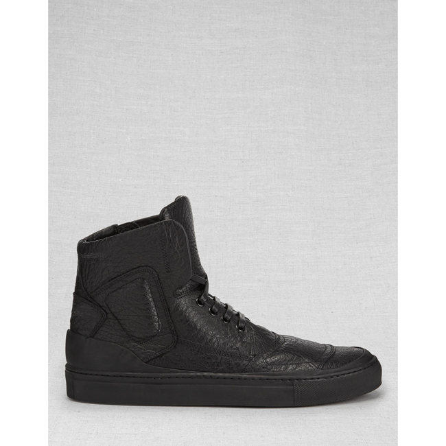 Belstaff  ROMFORD SNEAKERS Men  BLACK Outlet Store