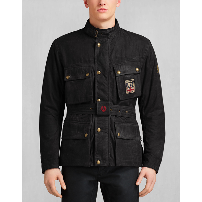 Belstaff JUBILEE TRIALMASTER JACKET Men BLACK Outlet Store
