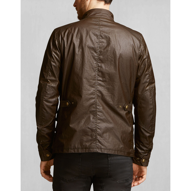 Belstaff TOURMASTER JACKET Men FADED OLIVE Outlet Store