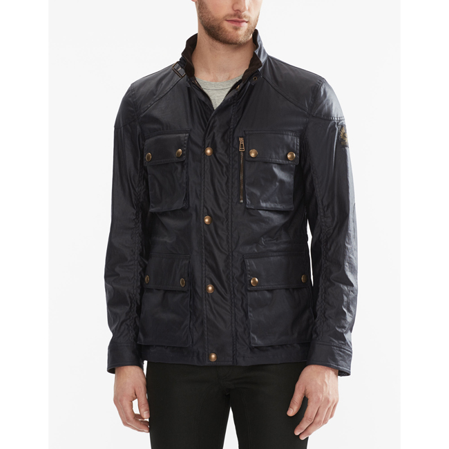 Belstaff TRIALMASTER JACKET Men DARK NAVY Outlet Store
