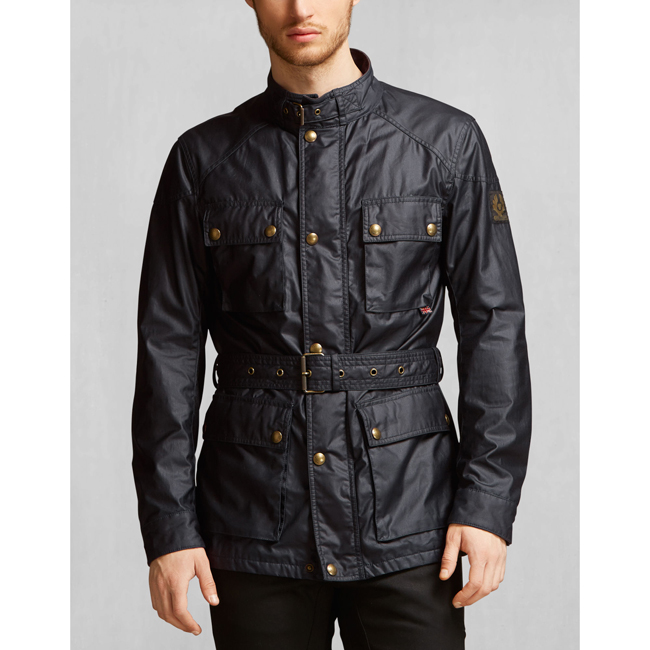 Belstaff THE ROADMASTER JACKET Men DARK NAVY Outlet Store