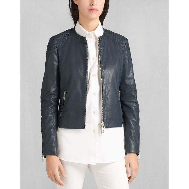 Belstaff ENGEL BLOUSON Women  NAVY Outlet Store