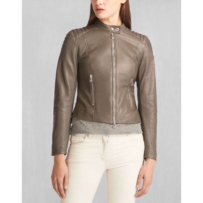 Belstaff MOLLISON JACKET Women CHARCOAL Outlet Store
