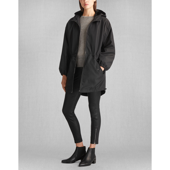Belstaff ROWLEY PARKA Women BLACK Outlet Store