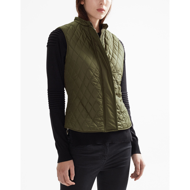 Belstaff WALSTEAD VEST Women FADED OLIVE Outlet Store