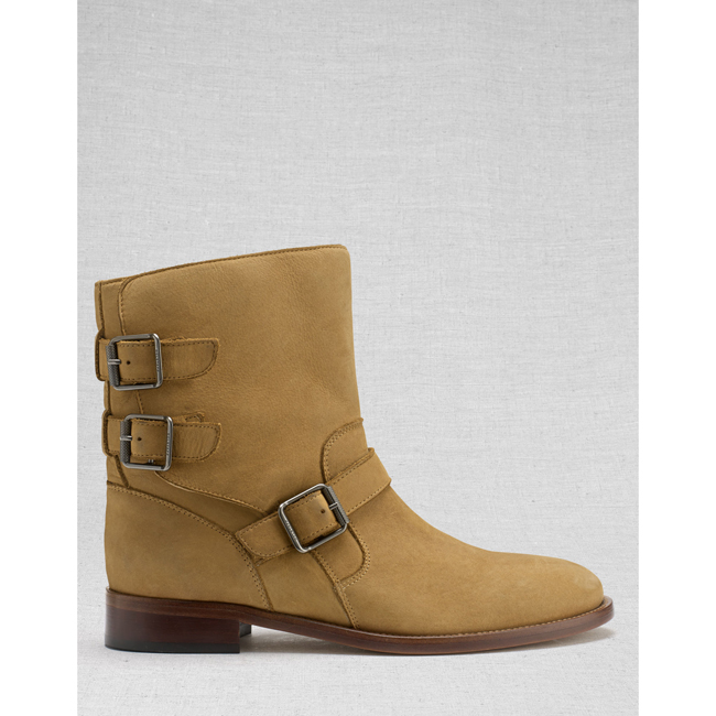 Belstaff BEDDINGTON SHORT BOOTS Women TAN Outlet Store