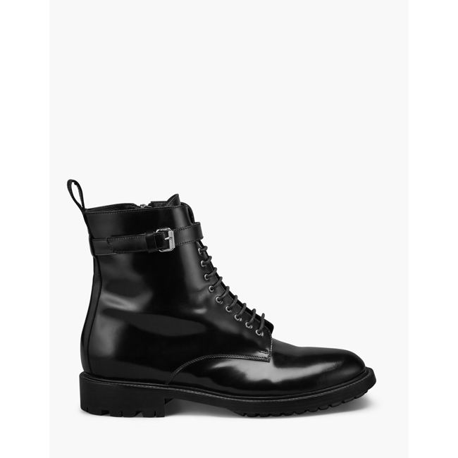 Belstaff FINLEY COMBAT BOOT Women  BLACK Outlet Store