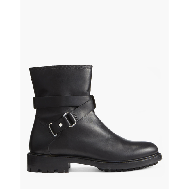Belstaff RIDER BOOTS Women  BLACK Outlet Store