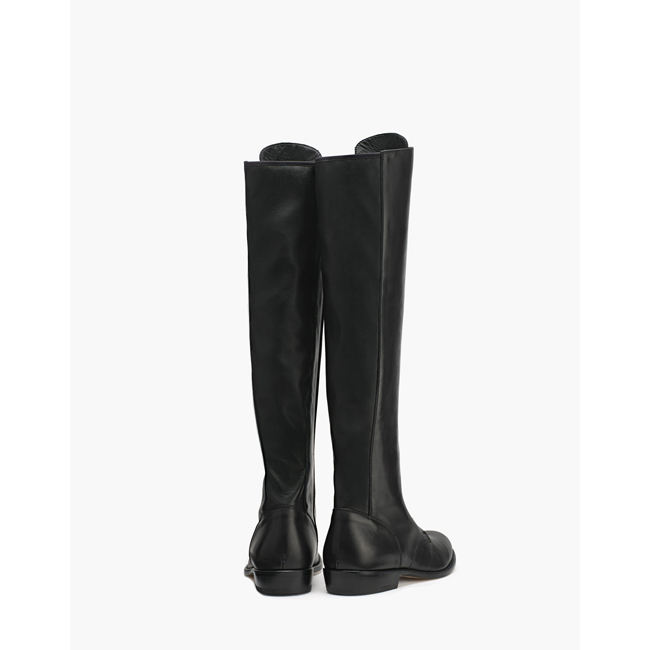 Belstaff HEPWORTH KNEE HIGH BOOTS Women  BLACK Outlet Store