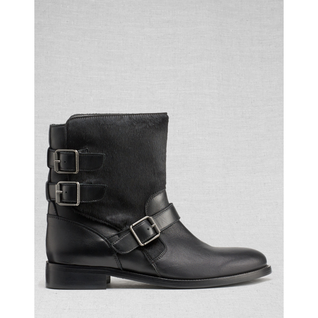 Belstaff BEDDINGTON SHORT BOOTS Women BLACK Outlet Store