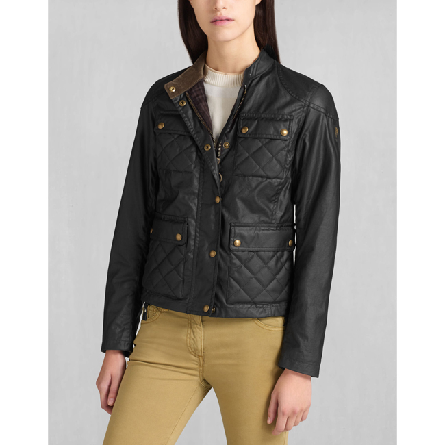 Belstaff PATHMASTER BLOUSON Women BLACK Outlet Store