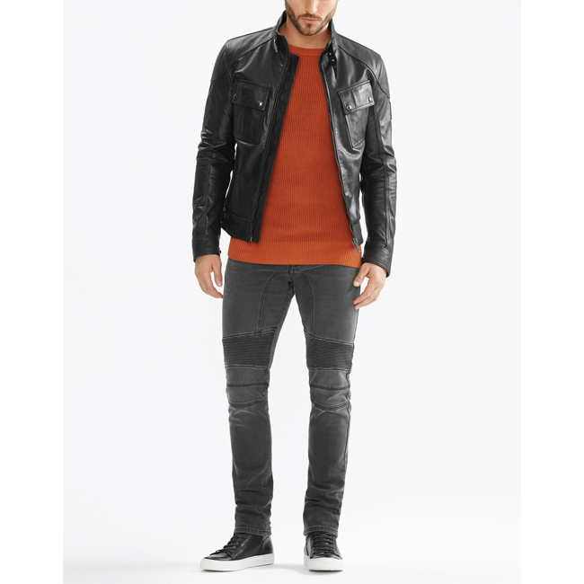 Belstaff ASHINGDALE JACKET Men BLACK Outlet Store