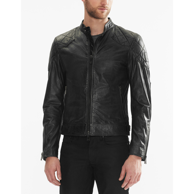 Belstaff THE OUTLAW JACKET Men BLACK Outlet Store
