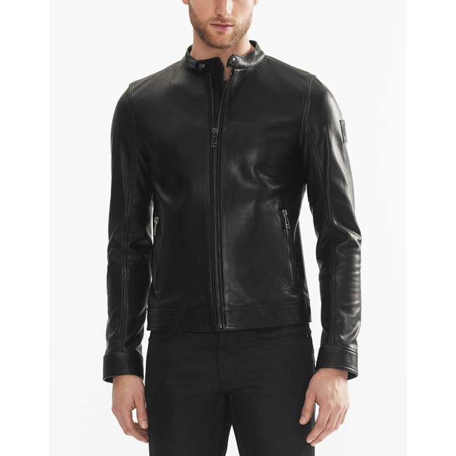 Belstaff NEW GRANSDEN JACKET Men  BLACK Outlet Store