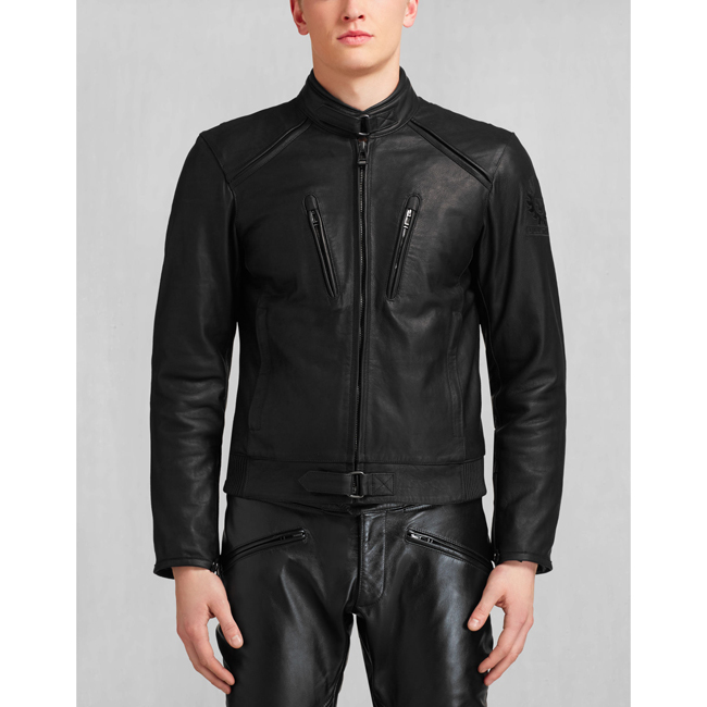 Belstaff LAVANT BLOUSON Men BLACK Outlet Store