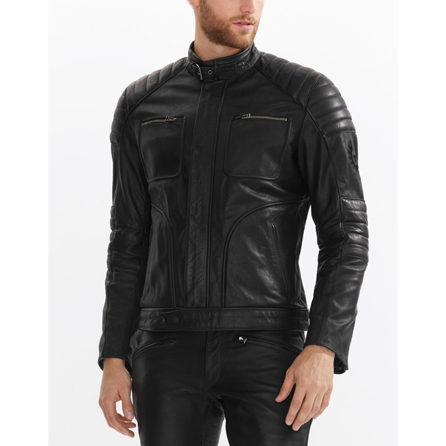 Belstaff RALEIGH JACKET Men BLACK Outlet Store