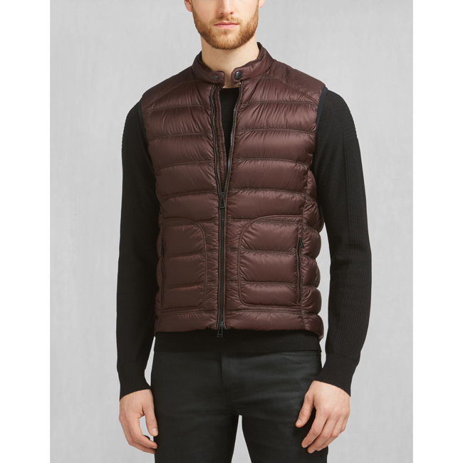 Belstaff HARBURY VEST Men PORT Outlet Store