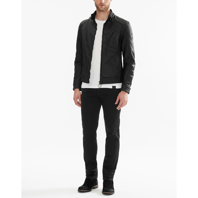 Belstaff H RACER JACKET Men BLACK Outlet Store