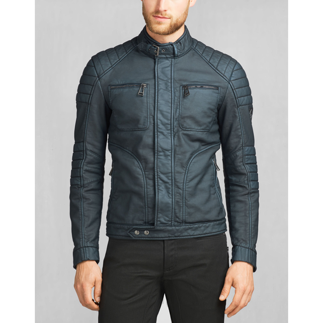 Belstaff WEYBRIDGE JACKET Men DENIM BLUE Outlet Store