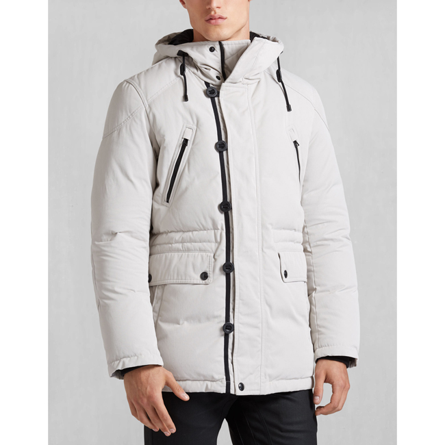 Belstaff DOWNHAM JACKET Men PALE GREY Outlet Store