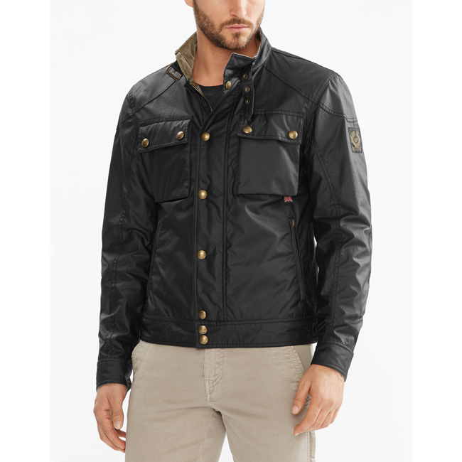 Belstaff RACEMASTER BLOUSON JACKET Men BLACK Outlet Store