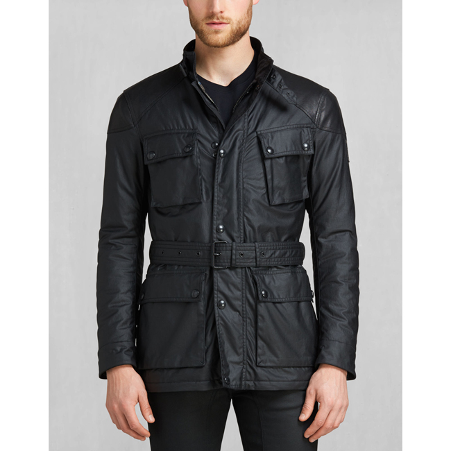 Belstaff SPEEDMASTER 2016 JACKET Men BLACK Outlet Store