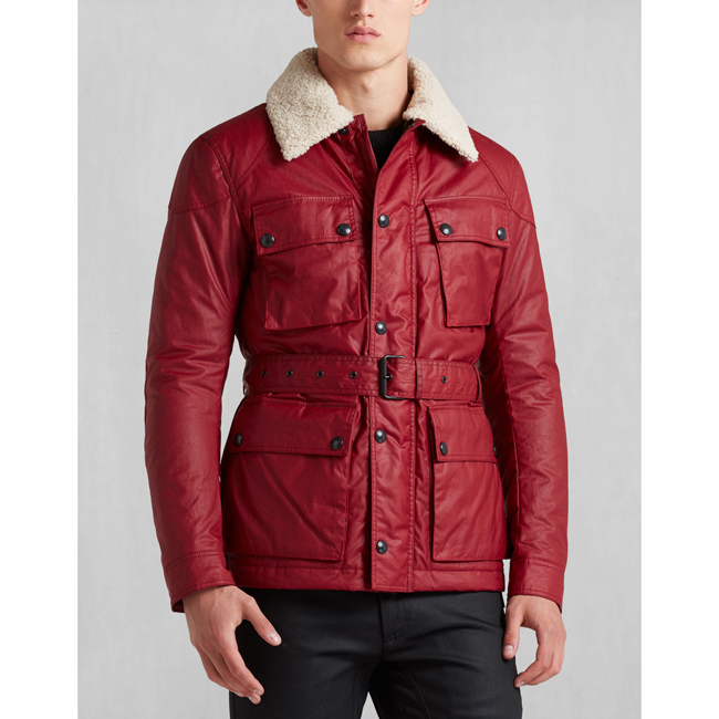 Belstaff CIRCUITMASTER AW16 JACKET Men RACING RED Outlet Store