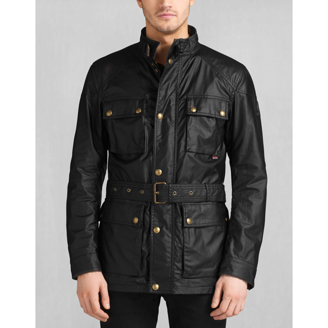 Belstaff THE ROADMASTER JACKET Men BLACK Outlet Store