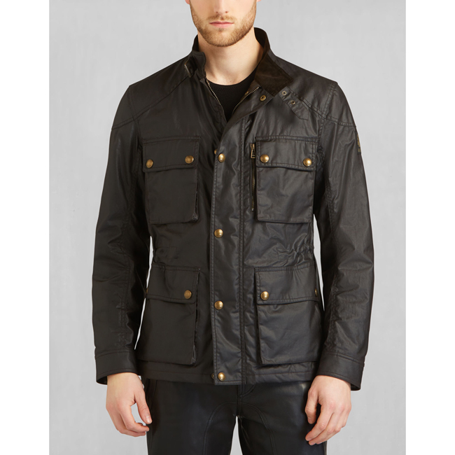 Belstaff TRIALMASTER JACKET Men MAHOGANY Outlet Store