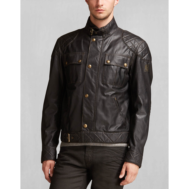 Belstaff THE S ICON BLOUSON Men BLACK Outlet Store