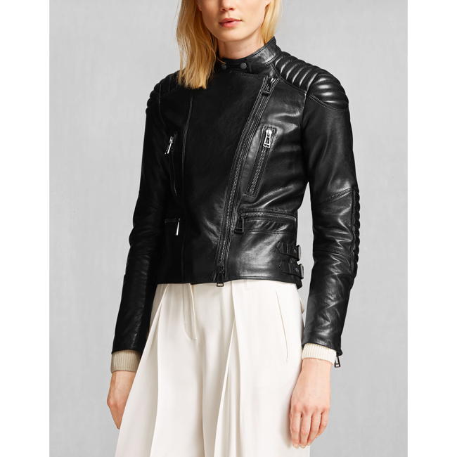 Belstaff SIDNEY JACKET Women BLACK Outlet Store