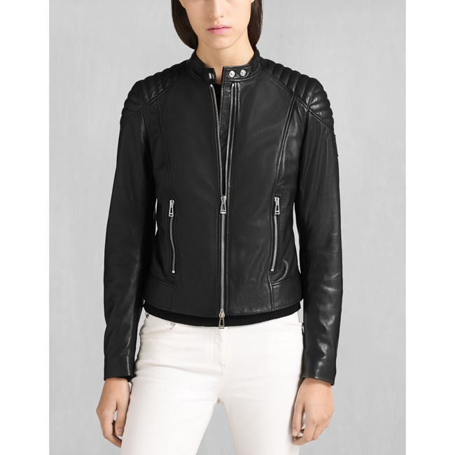 Belstaff MOLLISON JACKET Women BLACK Outlet Store