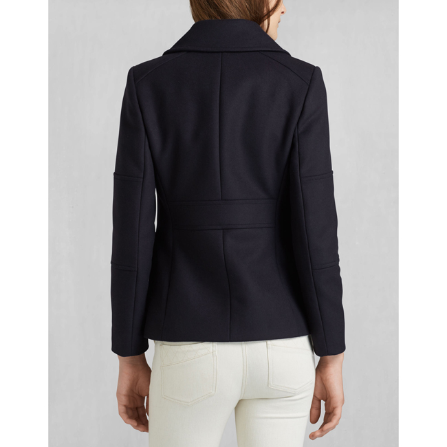Belstaff BARBEAU JACKET Women  MIDNIGHT Outlet Store