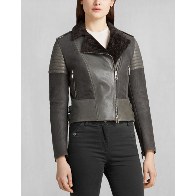 Belstaff ELLSWORTH BLOUSON Women CHARCOAL Outlet Store