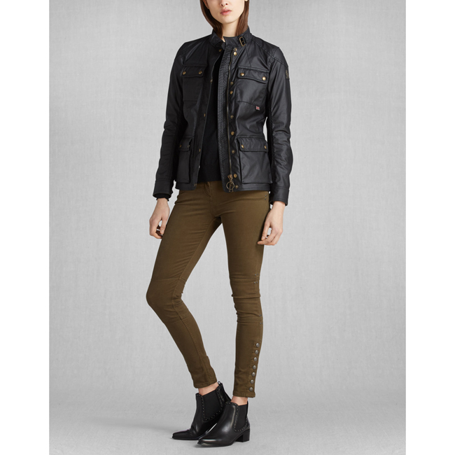 Belstaff ROADMASTER JACKET Women BLACK Outlet Store