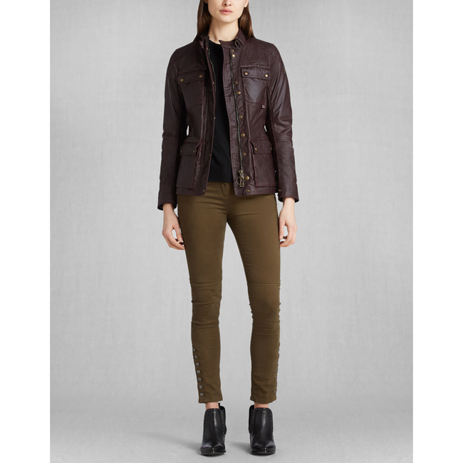 Belstaff ROADMASTER JACKET Women ROSEWOOD Outlet Store